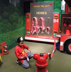 childrens museum exhibit design fabrication installation chicago illinois interactive hands on play
