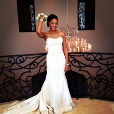 One of our beautiful brides at Chateau Cocomar