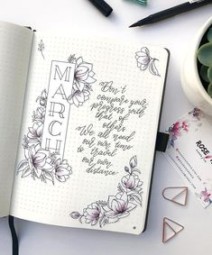 """803 Likes, 42 Comments - Rose K (@rosekjournals) on Instagram: """"I've finally decided to acknowledge that March is here! And thanks to those who voted in my poll...…"""""""