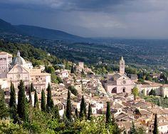 Assisi, Italy by Devan Perona, via Flickr