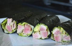 Great paleo crock pot recipes on this site also some other winners including this Ahi Tuna Salad :)