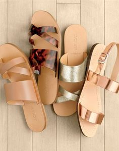 J.Crew women's minimalist sandals. Taxes are complicated. Summer sandals shouldn't be.