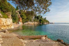 Pecine Beach, Rijeka   Travel Croatia Guide