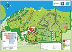 Plattegrond - Camping de Oosterdriessen Garden Design, Camping, Map, Travel, Campsite, Viajes, Location Map, Destinations, Backyard Landscape Design