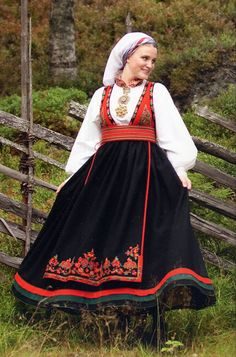 Hello all, This is the second part of my overview of the costumes of Norway. This will cover the central row of provinces in Eastern N. Norway Girls, Folk Costume, Costumes, Norwegian Clothing, Heartland, Alter, Folk Art, Scandinavian, Two By Two