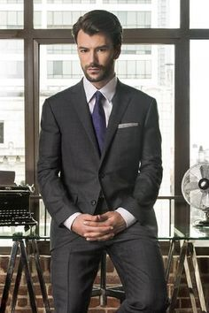 PAUL BETENLY SUIT. SUPER 120's WORSTED WOOL, SLIM FITTING, SHORTER JACKET, NARROW LAPELS, SIDE VENTS, SLIM FLAT FRONT TROUSERS 7 INCH DROP. BLACK, NAVY BLUE OR CHARCOAL. SHORT, REGULAR AND TALL FITTINGS. Check out our suits here: https://www.uomocasuale.ca/collections/suits/products/paul-betenly