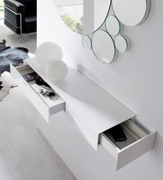 Home Decor Shelves, Home Decor Furniture, Home Decor Bedroom, Foyer Mirror, Interior Modern, Interior Design, Dressing Table Design, T Home, Radiator Cover