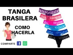 TANGA BRASILERA COMO HACERLA MOLDES DESCARGAR - YouTube Lace Bra, Diy Clothes, Tie Dye Skirt, Shinee, Lingerie, Make It Yourself, Youtube, Blog, Google