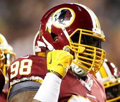 Free agent defensive tackle Terrance Knighton to visit Redskins = According to a report from Ian Rapoport of NFL.com, free agent defensive tackle Terrance Knighton will visit the Washington Redskins Wednesday following his visit with the New England Patriots on Tuesday.  Previously.....