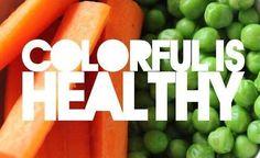 Bunt ist gleich gesund!