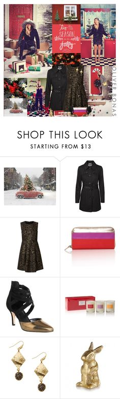 """Oliver Bonas Christmas Party Contest: Enter Below, 3 winners get jewelry!"" by leannesugarplum ❤ liked on Polyvore featuring Bestar, Vero Moda, Office, women's clothing, women, female, woman, misses and juniors"