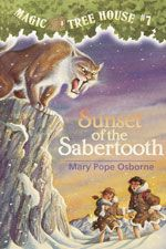 The Paperback of the Sunset of the Sabertooth (Magic Tree House Series by Mary Pope Osborne, Sal Murdocca Magic Tree House Lessons, Magic House, Best Children Books, Childrens Books, Kid Books, Mary Pope Osborne, Magic Treehouse, Early Readers, Chapter Books