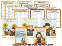 Planning Autumn Math Stations - Differentiated Kindergarten Differentiated Kindergarten, Kindergarten Teachers, Kindergarten Activities, Art Activities, Math Manipulatives, Fun Math Games, Math Concepts, Math Stations, Classroom Inspiration