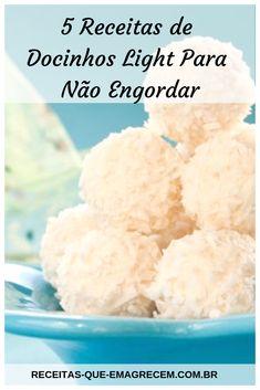 So machen Sie sich fit Brigadeiro + Kondensmilch Fit → 5 Functional Brigadeiros - Top Gourmet - Gourmet Desserts, Doce Light, Light Diet, Copycat Recipes, Cake Recipes, Bakery, Food And Drink, Low Carb, Gluten Free