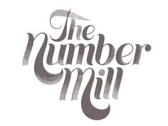 The Number Mill logo type