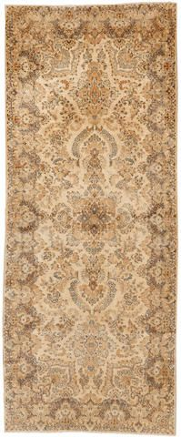 Kerman runner  South Central Persia  circa 1930  size approximately 4ft. x 10ft.