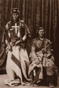 Little Wolf and Dull Knife Northern Cheyenne chiefs 1828-1904 1810-1883.