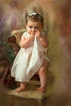 First Portrait~ Maher Art Gallery: Richard Ramsey Precious Children, Beautiful Children, Animation, Portrait Art, Vintage Children, Art Children, Art Pictures, Painting & Drawing, Drawing Tips