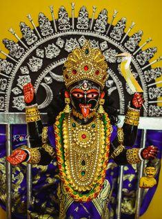 Kali Mata, Durga Goddess, Gods And Goddesses, Deities, Style, Art, Swag, Outfits