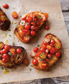 Follow These Rules for the Best Tomato Bruschetta