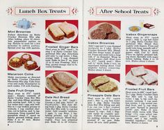 1958 Betty Crocker Country Kitchen Cookies Recipes