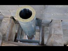 Дымоход печь длительного горения теория правила схемы / Дымовая труба / Chimney stove long burning - YouTube