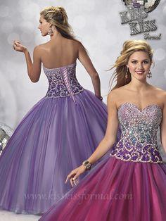 Mary&39s style ID P3713 Kiss Kiss formal wear prom dress mayras ...