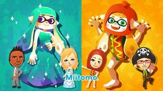 A Miitomo Splatfest arrives in Splatoon next weekend, and it'll be the first time where players worldwide are matched up against each other.