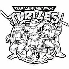 ralph ninja turtle coloring page Free Large Images Ideas for