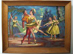 The Love Ballet, Adam Grant, Designer. PBN Museum.  http://www.paintbynumbermuseum.com/node/130
