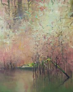 Oxbow Slough-Oregon Wetlands, painting by artist Randall David Tipton