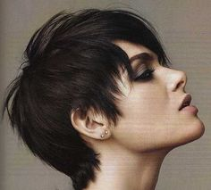 15 Short Haircuts for Thick and Straight Hair | http://www.short-haircut.com/15-short-haircuts-for-thick-and-straight-hair.html