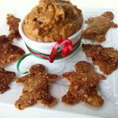 DAMY Healthy Recipes Oatmeal Gingerbread cookies