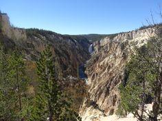 Lower Falls, Yellowstone Canyon