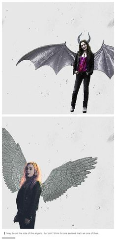 I may be on the side of the angels…but don't think for one second that I am one of them. || Meg Masters #Supernatural #SPN ladies #Meg 2.0