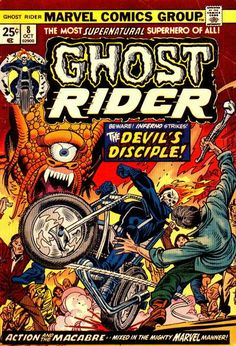 Ghost Rider Vol. 2 # 8 by Gil Kane & Mike Esposito