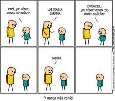 Los bebés cigüeña. #humor #risa #graciosas #chistosas #divertidas