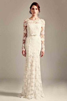 ♥ Vestidos de manga longa são elegantes e estão em alta. Selecionamos 05 vestidos de noiva de manga longa para você se inspirar ♥