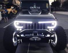 The durable Vector Pro-Series replacement grill includes a wide array of LED lighting features. We'll customize yours to match the color of your Jeep. Jeep Jk, Jeep Rubicon, Jeep Wrangler Jk, Jeep Truck, Jeep Wrangler Interior, Ford Trucks, Jeep Wrangler Colors, Jeep Wrangler Accessories, Jeep Accessories