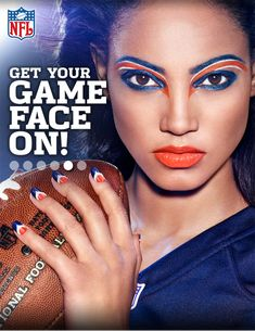 The Official NFL #GAMEFACE Denver Broncos! I have to get this!!!