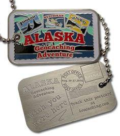 Alaska Geocaching Adventure Tag