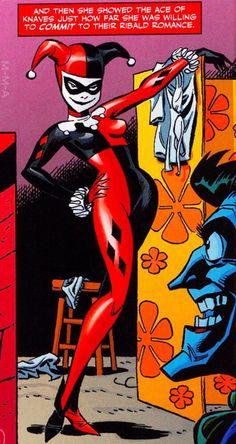 "murderous-manipulative-angel: ""The Origin Of Harley Quinn (March 2008) "" DC Comics - Harleen Quinzel - Joker"