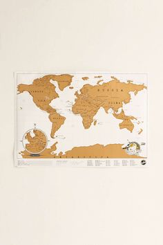 Scratch Off World Map I like this one better