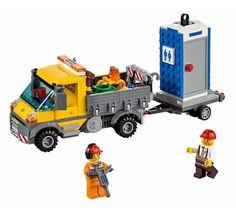 Lego 60073, Camión de Asistencia.  Contiene 233 piezas, incluye 2 Minifiguras.