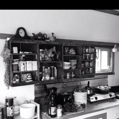My cabin kitchen.