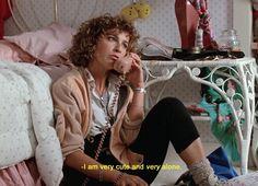 """I'm very cute.."" ~ Ferris Bueller's Day Off (1986) ~ Movie Quotes ~ #moviequotes #ferrisbueller"