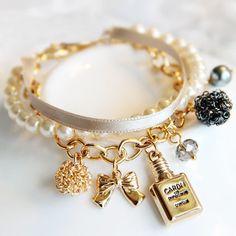 Sunshine loja de jóias de moda elegante multi elemento perfume feminino pulseira s167( ordem mínima $10 ordem misturada)