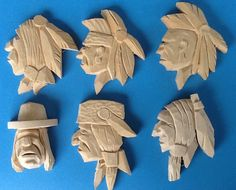 Carved in basswood, ready for paint.