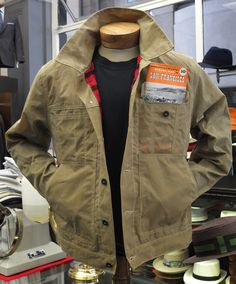 Filson Short Cruiser Jacket - Bound to be a favorite for Fall...