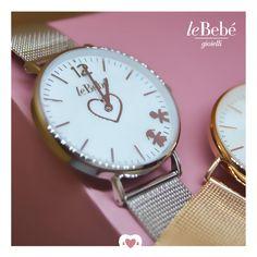 Gli orologi i Battiti di leBebé... e l'amore senza tempo di una mamma per il suo bimbo. Scopri le versioni in maglia milano cassa 36 mm o 26 mm. :) #fieradiesseremamma #lebebé #gioielli #orologi